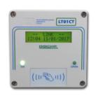 Lettore di transponder Temporizzato Accessi/Euro/Data - OP1CT